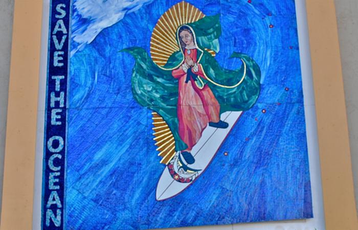 Таємнича мозаїка: серфінг Мадонни.