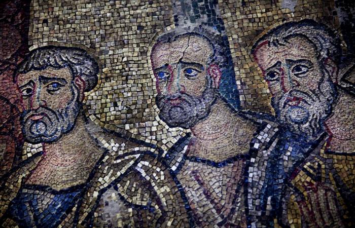 Таємнича мозаїка: Церква Різдва Христового у Віфлеємі.