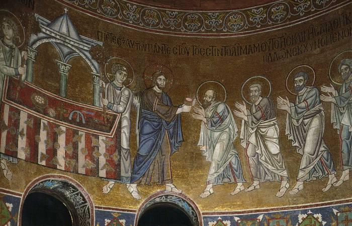 Мозаїка Святої Софії в Києві.