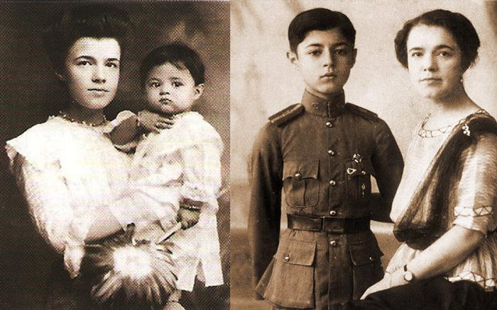 Катерина Десницька і син Чула Чакрабонгсе