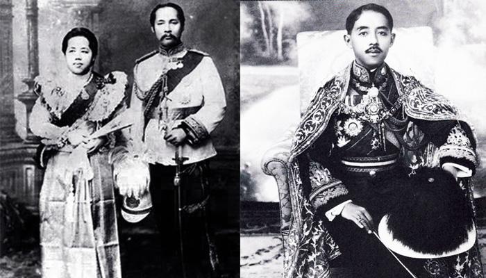 Король і королева Сіаму Рама V и Саована та принц Чакрабонгсе Буванафа