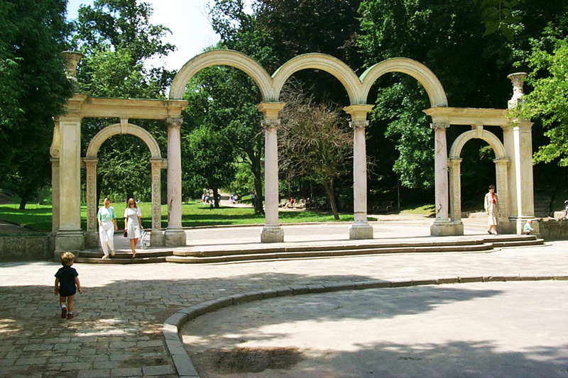Вхід в Стрийський парк, Львів