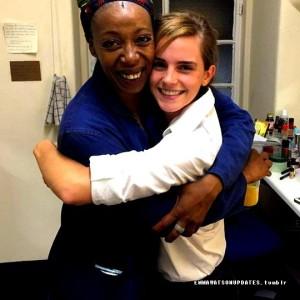 Нома Думезвені і Емма Уотсон. Фото з Instagram Емми Уотсон.