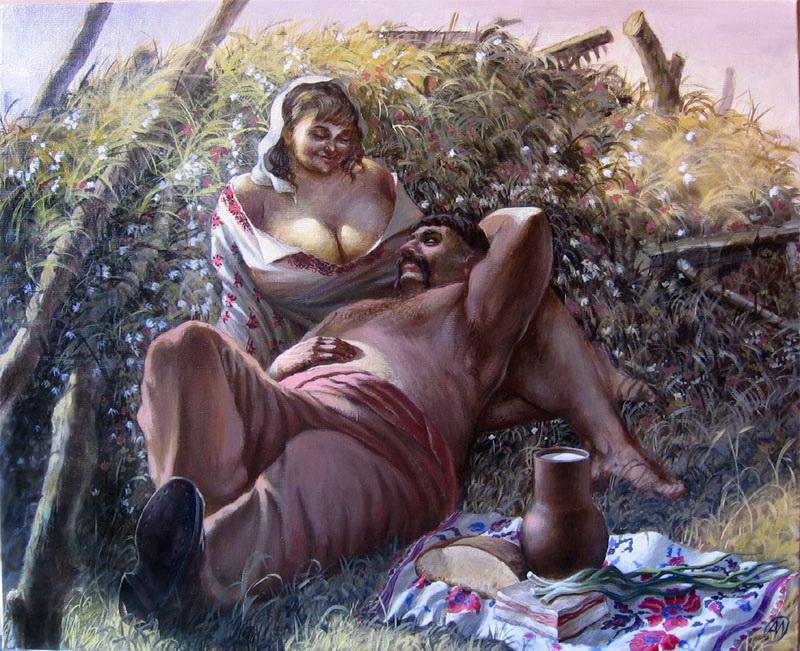 """Український полудень"""", 2009 р. художник О.Г. Іванов"""