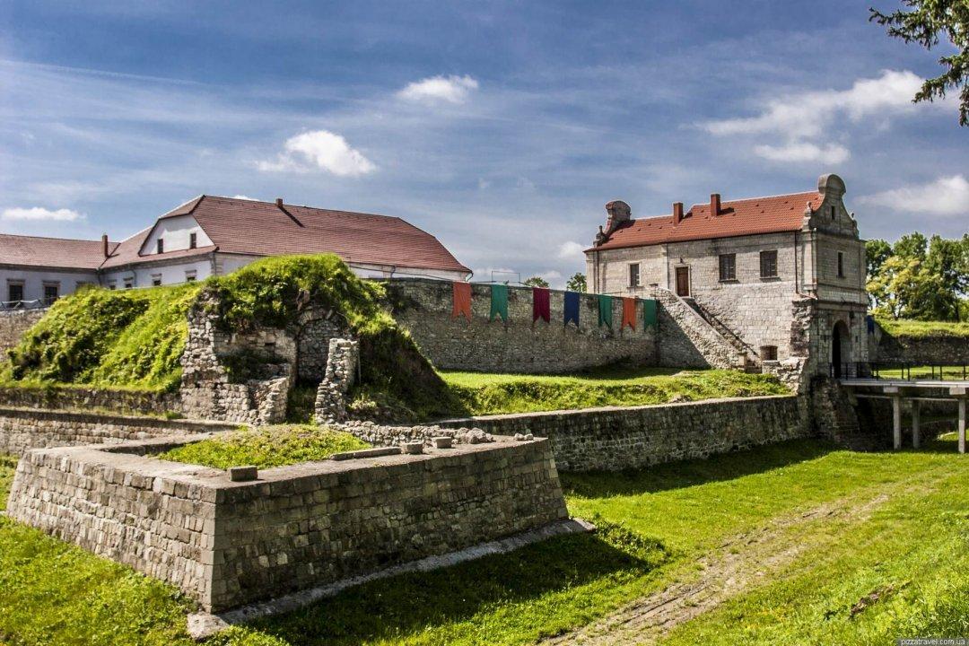 Фортифікаційна оборонна споруда в місті Збараж Тернопільської області.