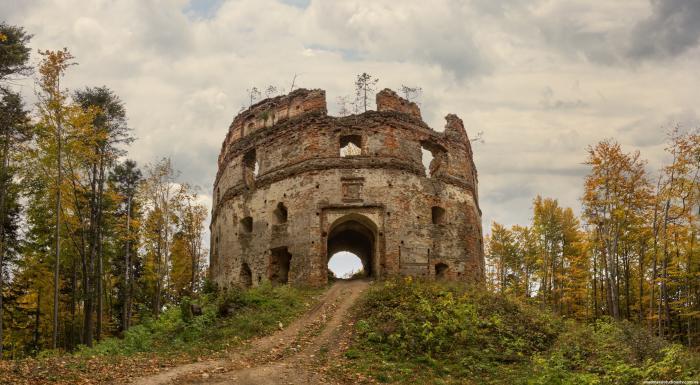 Добро́мильський за́мок (За́мок Ге́рбуртів), розташований за 4 км на південь від міста Добромиля, що в Старосамбірському районі Львівської області.