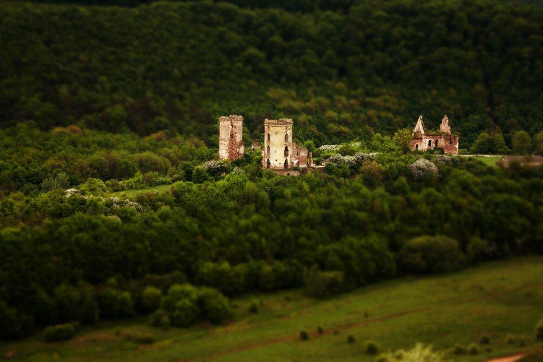 Червоногоро́дський за́мок або Джуринський замок, розташований в урочищі «Червоне», поблизу села Ниркова Заліщицького району Тернопільської області, на стрімкому пагорбі посеред глибокої котловини річки Джурин, яка в цьому місці утворила майже замкнуту петлю.