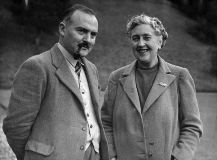 Агата Крісті (Agatha Christie) і Макс Меллоуен (Max Mallowan)