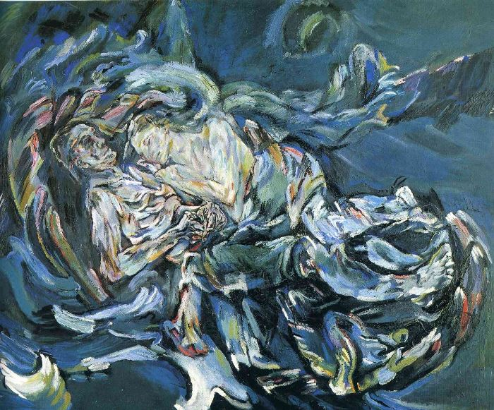 Оскар Кокошка. Наречена вітру, 1913 | Фото: artchive.ru