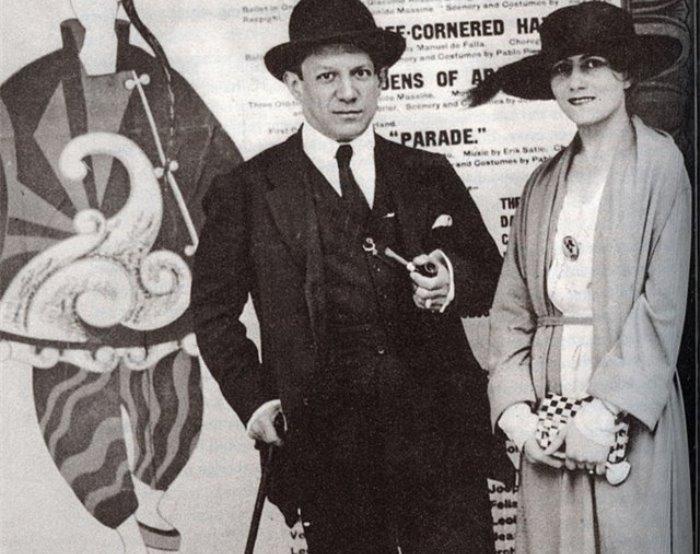 Пабло Пікассо і Ольга Хохлова | Фото: liveinternet.ru