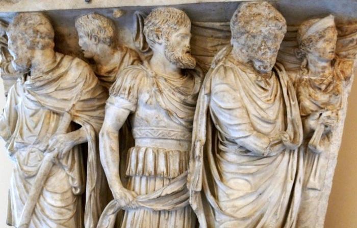 На похоронах в Стародавньому Римі забороняли плакати.   Фото: fishki.net.