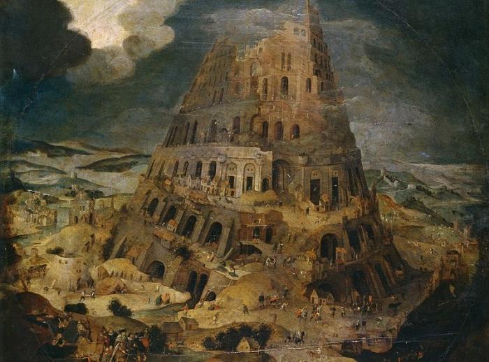 Будівництво Вавилонської вежі. P. Bruegel the Younger. | Фото: diletant.media.