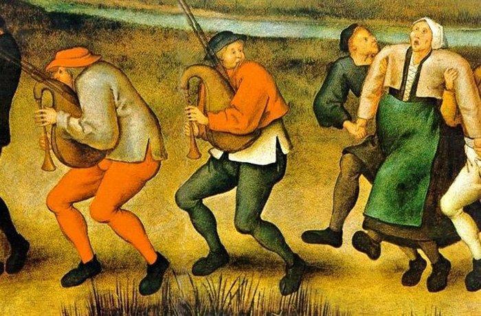 Танцювальна чума - нерозгадана таємниця Середньовіччя.