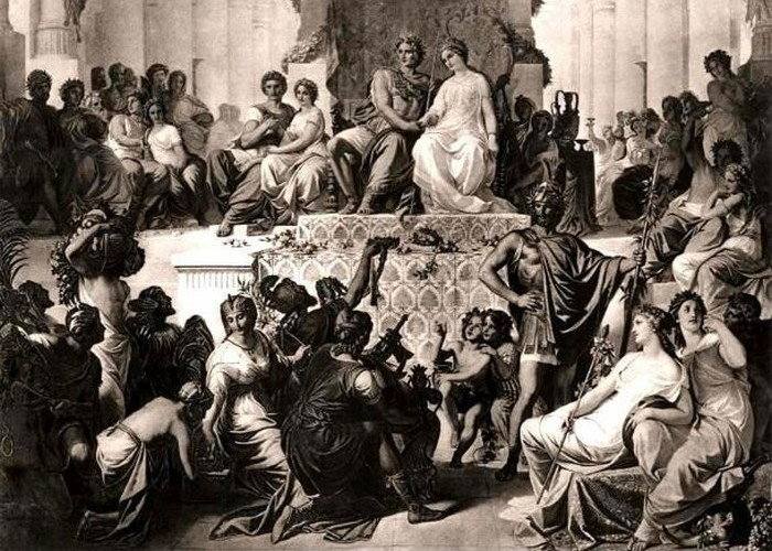 Александр III і Роксана.