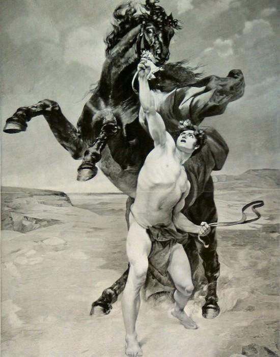 Улюблений кінь Буцефал.