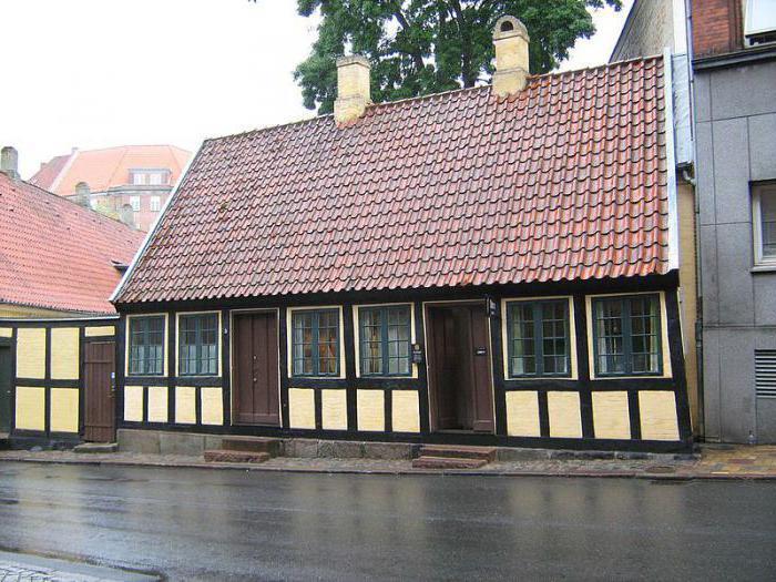 Будинок в данському місті Оденсе, де Андерсен жив у дитинстві
