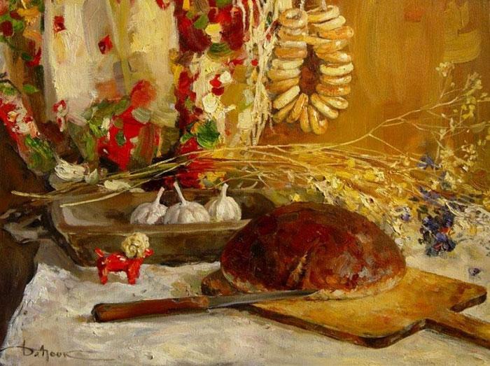 "Картина ""Хліб"", художник К. Дацук"