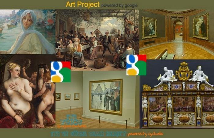 Можливість переглядати твори мистецтва у високому дозволі і деталізації.
