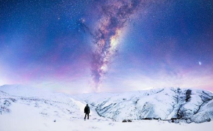 Споглядання зірок в Новій Зеландії.