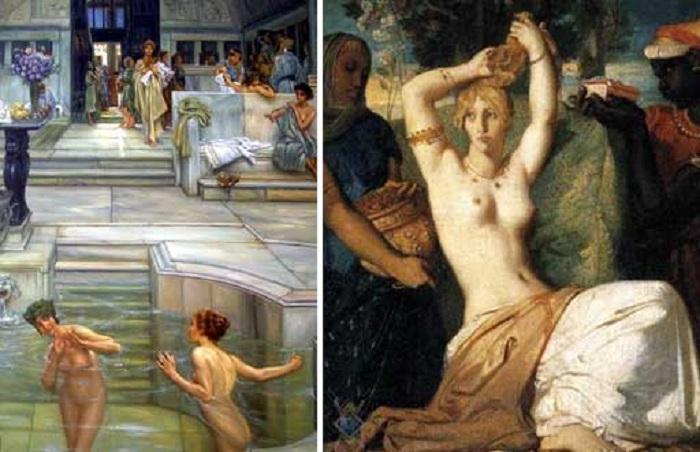 У Стародавньому Римі повії фарбували волосся в рудий або світлий відтінок. | Фото: kulichki.com.
