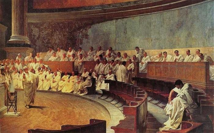 У Стародавньому Римі тільки сенат міг дозволити людині вчинити самогубство. | Фото: d262ilb51hltx0.cloudfront.net.