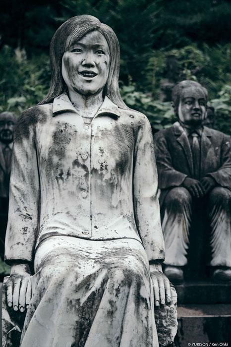 Статуя дівчини. Фото: Ken Ohki / Yukison.