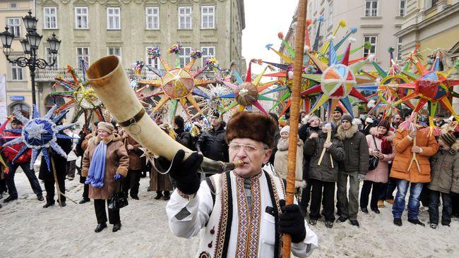 Як святкують Різдво Закарпаття, Волинь, Буковина та Галичина (ФОТО, ВІДЕО)