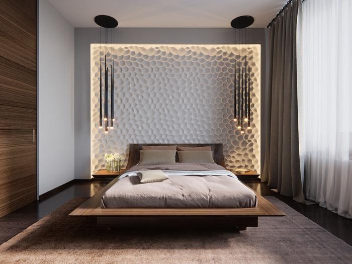 Декор стіни як родзинка інтер'єру.