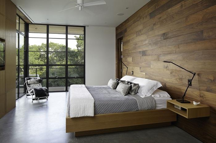 Один з кращих варіантів - декор спальної в сучасних тенденціях.