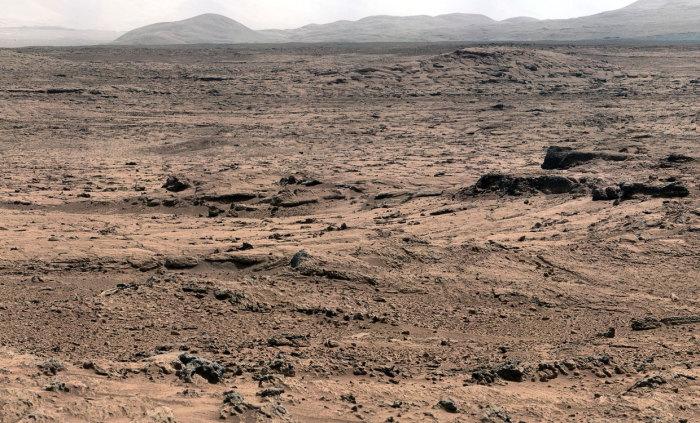 Марсіанський грунт.