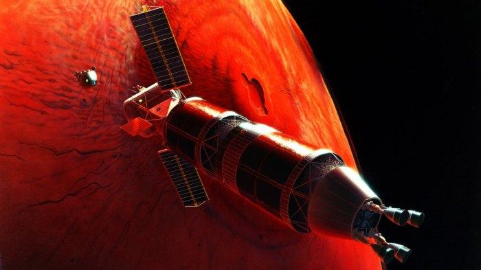 Марс - Червона планета, яка дарує людству надію.