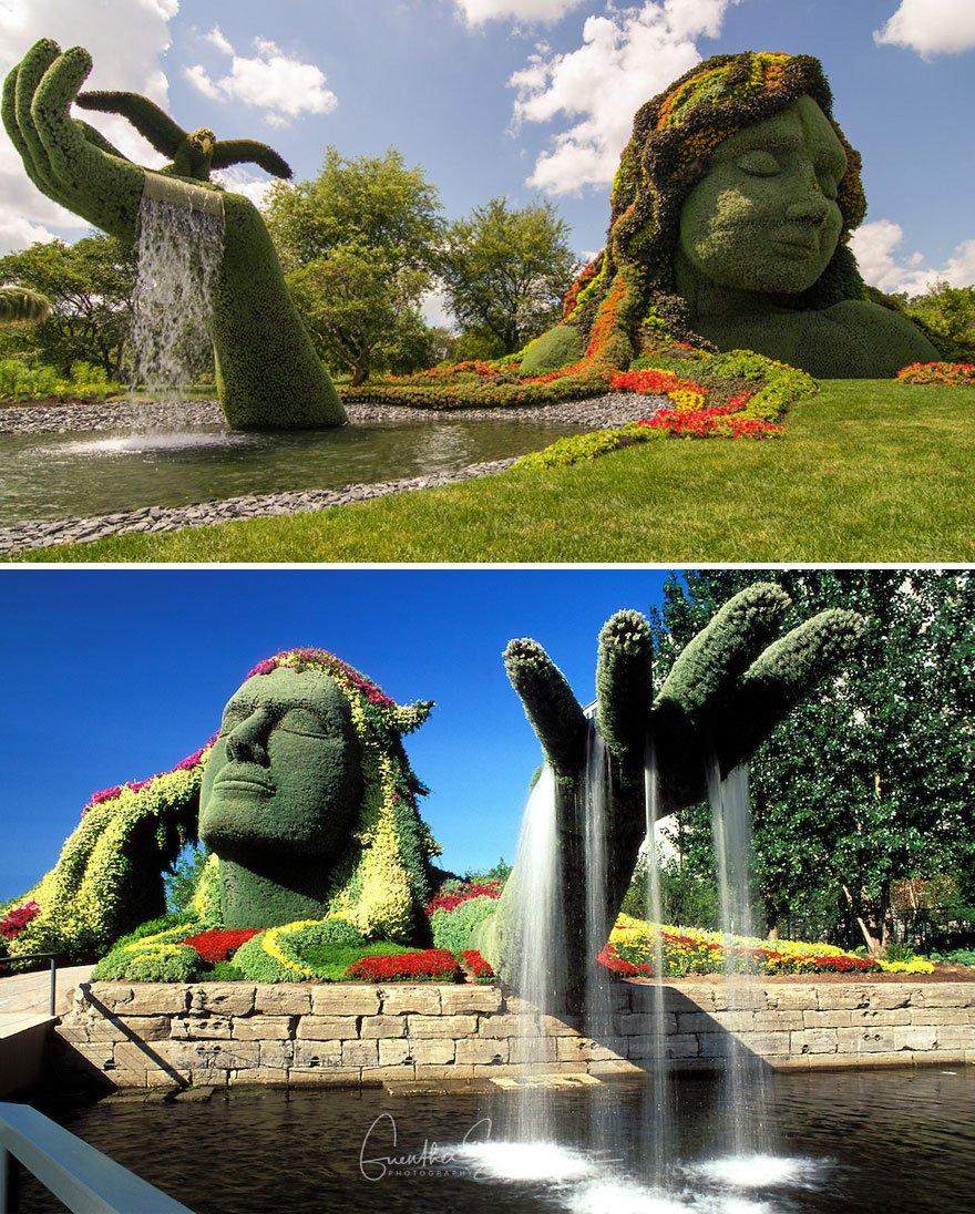 Дивовижні фонтани з усього світу
