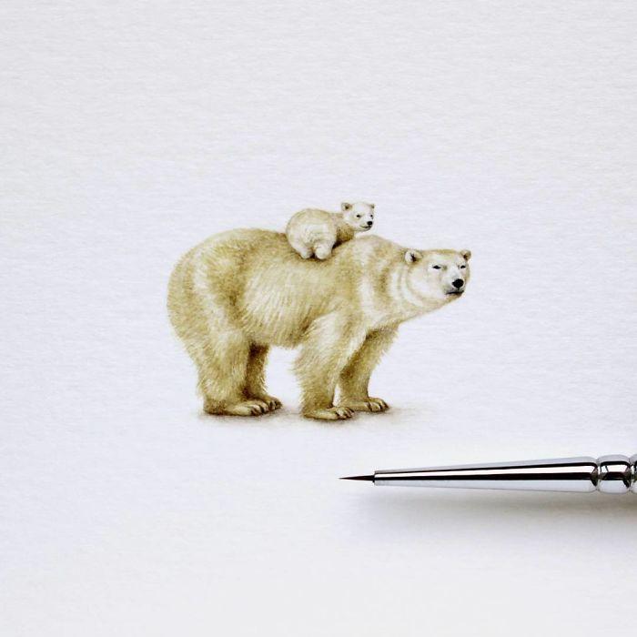 Білі ведмеді. Автор: Julia Las.