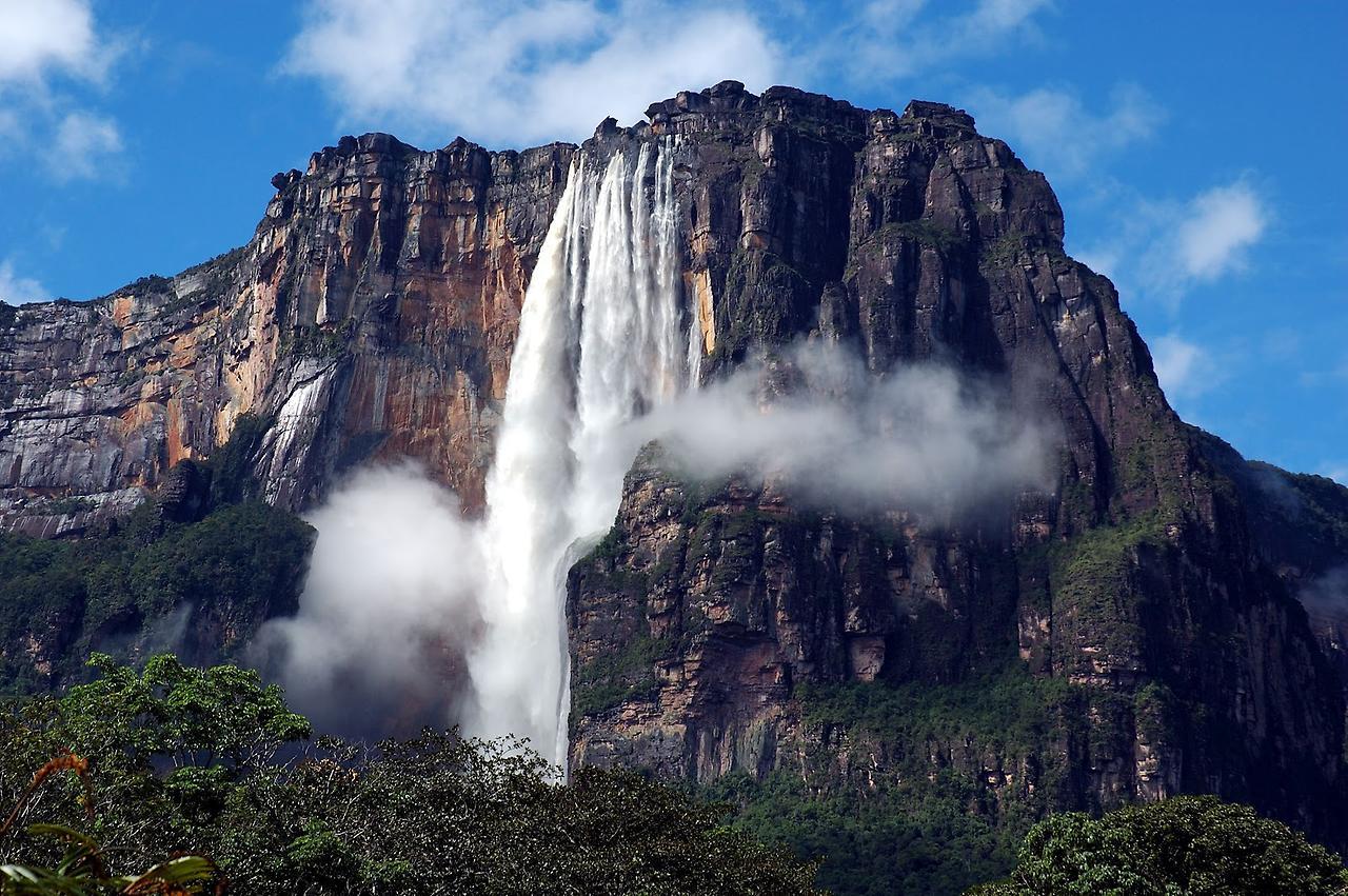 Найвищі водоспади у світі. Топ-20