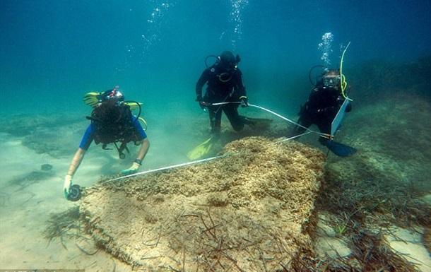 Біля берегів Тунісу виявлене стародавнє місто, яке затонуло через цунамі