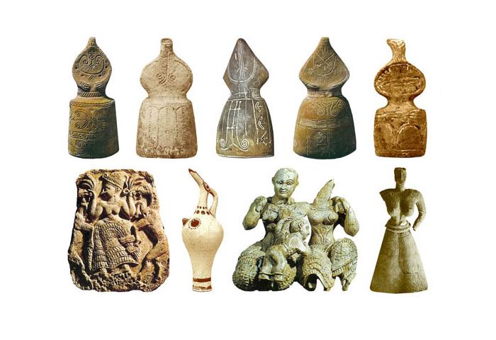 Скульптури Богинь 1600-1000 до н.е.