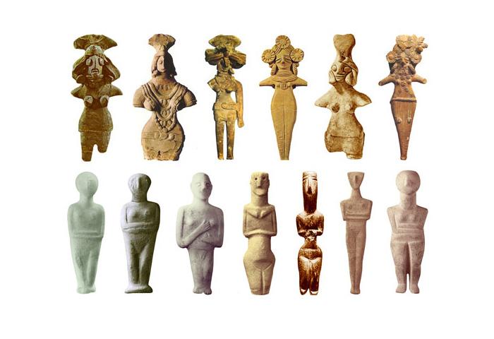 Скульптури Богинь 3000-2200 до н.е.