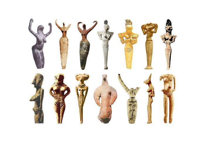 Скульптури Богинь 4000-3000 до н.е.