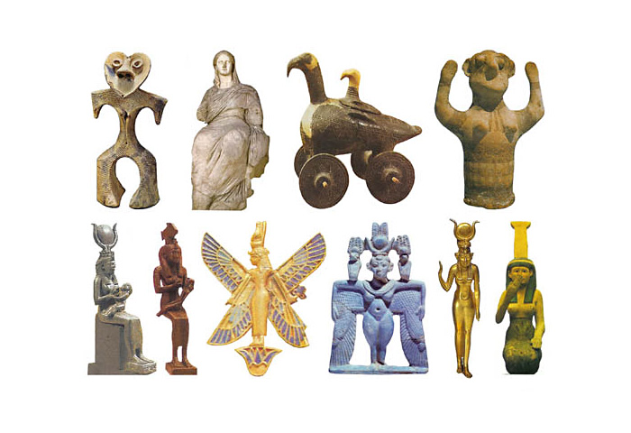 Скульптури Богинь Залізного століття