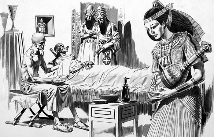 Гігієна в Стародавньому Єгипті: профілактична медицина. / Фото: bookpalace.com