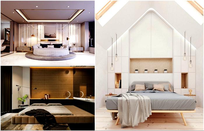 Надихаючі приклади дизайну спальні.