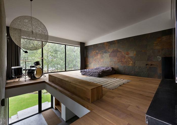 Атмосферна спальня в стилі мінімалізм.