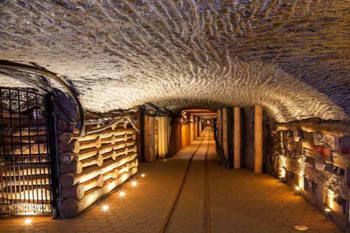 Підземні шахти Велички.