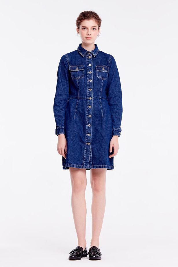 джинсовое платье-джинсовые платья-фото